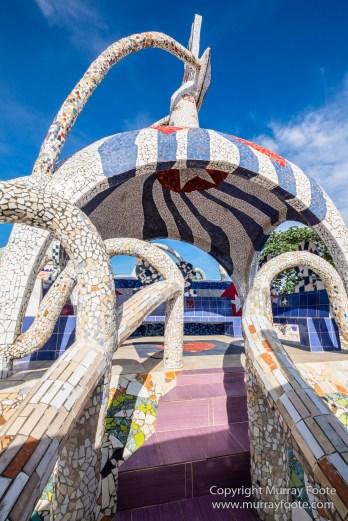 Architecture, Art, Cars, Cuba, Edsel, Fusterlandia, Havana, Mosaic, Photography, Street photography, Travel