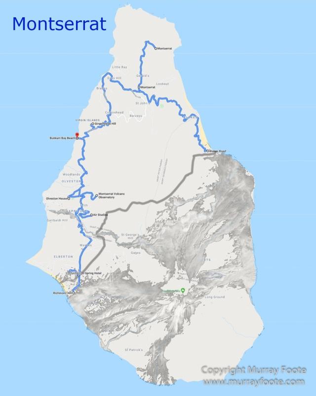 Archaeology, Architecture, History, Landscape, Montserrat, Nature, Photography, seascape, Slavery, Travel, Volcano