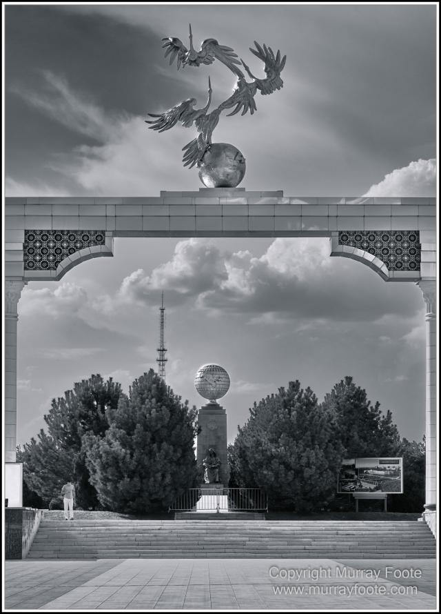 Architecture, Black and White, Landscape, Monochrome, Nature, Photography, Street photography, Tashkent, Travel, Uzbekistan